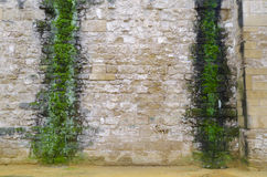 Wall. Detail of an ancient wall structure Royalty Free Stock Images