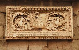 Wall Detail, Roman Forum Royalty Free Stock Image