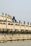 Wall detail temple of heaven beijing china Stock Photos