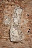 Wall detail at Terme di Caracalla. Wall detail - Terme di Caracalla - Caracalla's baths - Rome (Italy Royalty Free Stock Image