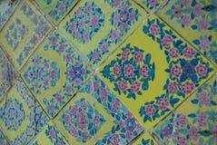 Wall detail of Wat Arun Stock Image