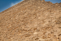 Wall details of old egyptian pyramid Stock Image