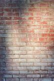 Wall of dirty brick. Beautiful old background. Empty place for inscriptions. Wall of red dirty brick. Beautiful old background. Empty place for inscriptions Stock Photo