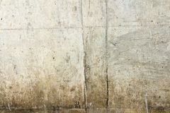 Wall dirty. paint dirty. street wall.textured. background.  Royalty Free Stock Photo