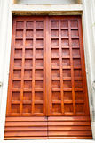 wall door in italy land Stock Images