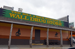 Wall Drug Store, South Dakota, Usa Stock Photos
