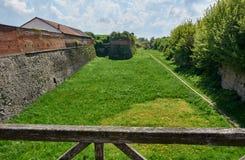 Wall Dubno fortress. Ukraine Royalty Free Stock Photos