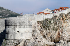 Wall of Dubrovnic Royalty Free Stock Photos