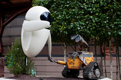 Wall-E and Eve Royalty Free Stock Photos