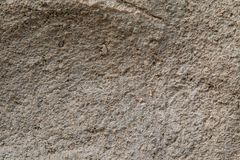 Wall of earth texture. Close up of a wall made of earth revealing its texture Stock Image