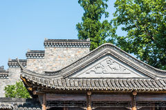 wall and eave roof Royalty Free Stock Images