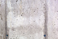 Wall of exposed concrete Stock Photo
