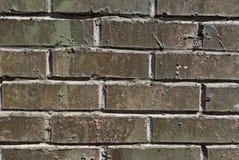 Wall from a facing gray brick Stock Photos