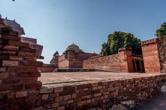 Wall in Fatehpur Sikri Royalty Free Stock Photo
