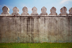 Wall on the fields Stock Photos