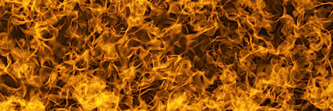 Wall of fire Royalty Free Stock Photography