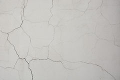 Wall with fissure. Picture can be used as a background Stock Photo