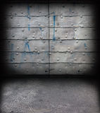 Wall and floor background Stock Photo