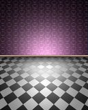 Wall and floor Royalty Free Stock Photos