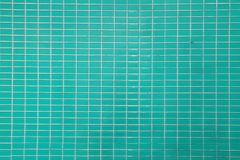 Wall and floor mosaic tiles green color Royalty Free Stock Images