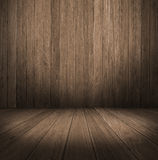 Wall and floor siding weathered wood background Stock Images