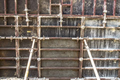 Wall formwork Royalty Free Stock Images