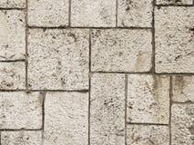 Wall fortification blocks. Ancient wall fortification rock blocks stock photo