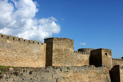 Wall of fortress Royalty Free Stock Image