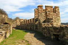 Wall of the fortress Stock Photo
