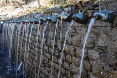 Free Wall Fountain At Muktinath Temple Stock Photography - 83428632