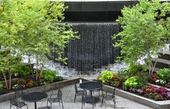 A Wall Fountain Royalty Free Stock Image