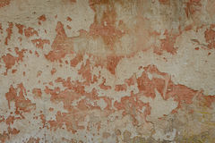 Wall fragment with attritions and cracks. Texture. Wall. A background with attritions and cracks royalty free stock images