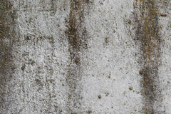 Wall fragment with attritions and cracks Royalty Free Stock Photography