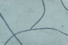 Wall fragment with attritions and cracks. Texture.  Wall. It can be used as a background Stock Photography