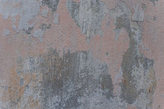 Wall fragment with attritions and cracks. Texture.  Wall. It can be used as a background Royalty Free Stock Photography