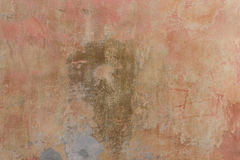 Wall fragment with attritions and cracks. Texture.  Wall. It can be used as a background Royalty Free Stock Image