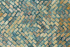 Wall. Fragment of old bricks wall Royalty Free Stock Image