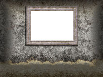 Wall and frame Royalty Free Stock Image