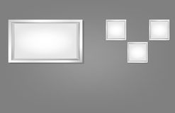 Wall Frame Royalty Free Stock Images