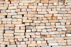 Wall From Old Bricks Stock Images