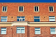Wall full of windows Royalty Free Stock Photo