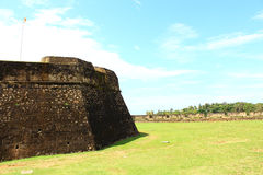 Wall Galle Fort Royalty Free Stock Images