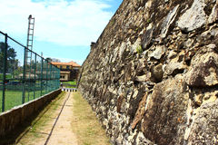 Wall Galle Fort Stock Photo