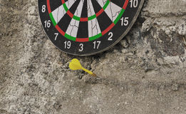 On the wall game of Darts Royalty Free Stock Images