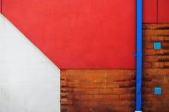 Wall Geometry Stock Photography