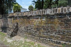 THE WALL. GETING AWAY FROM HURRICANE IRMA WE HAPPENED TO DRIVE UPON THIS WALL , LOOKED INTERESTING SO I PULLED OVER A TOOK A SNAP SHOT OF IT. NOT SURE WHAT Stock Photos