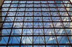 Wall of glass Stock Photos