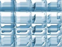Wall of glass Royalty Free Stock Photos