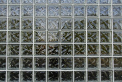 Wall of Glass Blocks Stock Photos