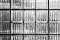 Wall of glass bricks Stock Images